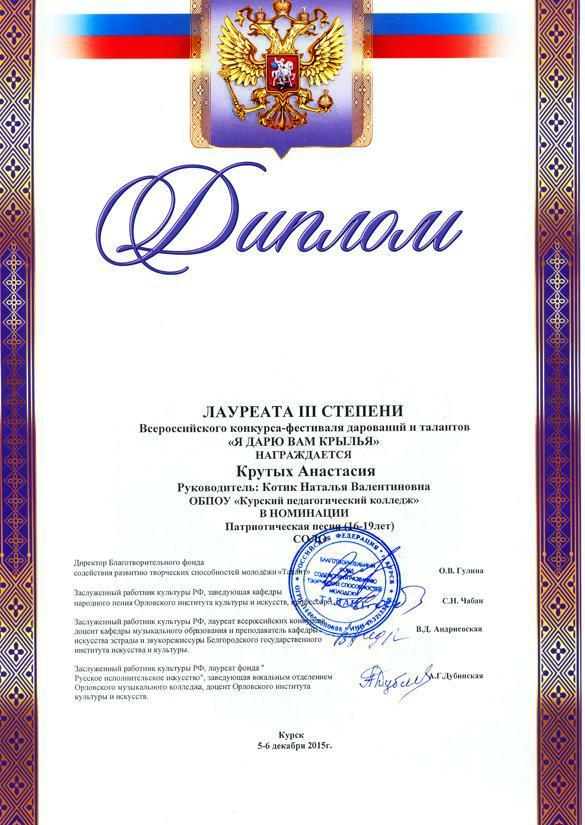 Всероссийский конкурс в курске 2017